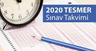 2020 yılı tesmer sınav takvimi