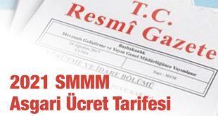 2021 smmm asgari ücret tarifesi
